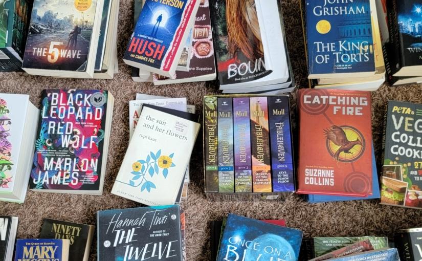 Top 10 TBR Books on MyShelf